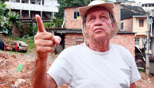 Morador do bairro de Nazaré, ele não é soteropolitano - Foto: Edilson Lima | Ag. A TARDE