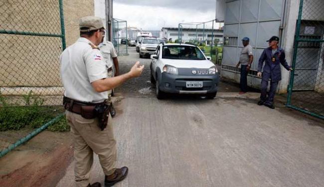 Os nomes dos presos transferidos não foram divulgados pela direção da unidade - Foto: Luiz Tito | Ag. A TARDE