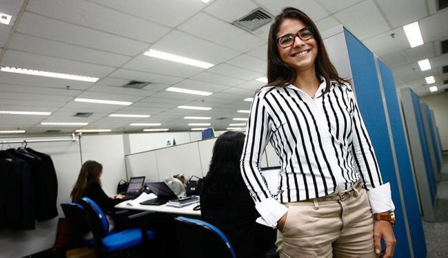 Renata começou a desenvolver seu plano de carreira quando entrou na Deloitte - Foto: Mila Cordeiro | Ag. A TARDE