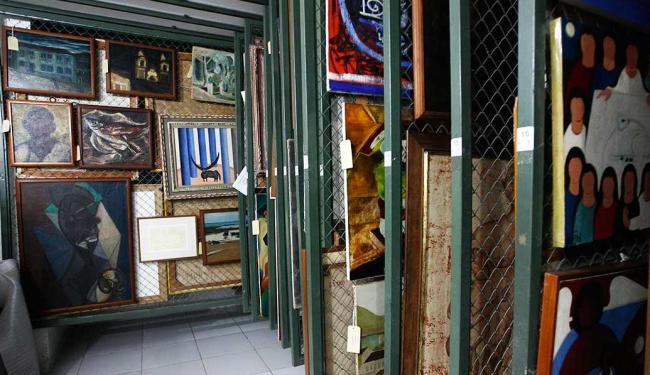 Primeira reserva técnica do MAM foi construída em 1993 e ainda não foi instalada num novo espaço - Foto: Mila Cordeiro | Ag. A TARDE