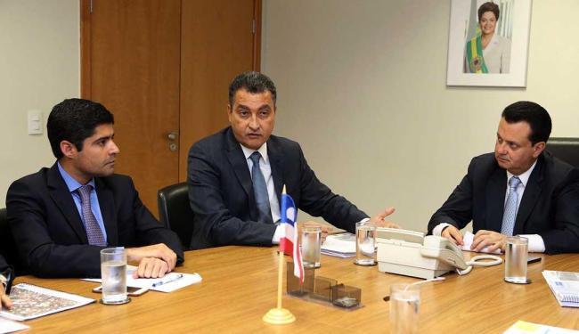 Governador e prefeito se reuniram com ministro Kassab nesta quarta - Foto: Bruno Peres | Min. das Cidades