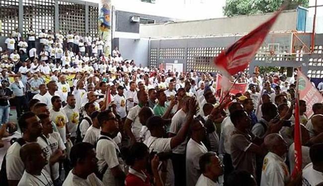Categoria decidiu iniciar greve durante assembleia realizada na quinta-feira, 14 - Foto: Divulgação