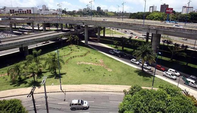 Duas áreas próximas à Rótula do Abacaxi vão sofrer intervenções - Foto: Lúcio Távora | Ag. A TARDE