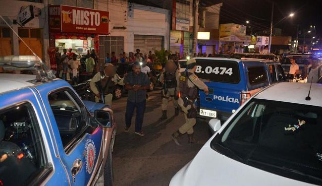 Polícia prendeu um dos criminosos após tentativa de fuga - Foto: Reprodução