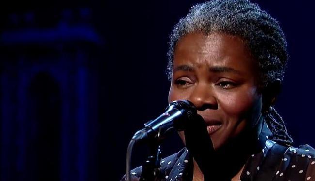 Tracy canta Ben E. King - Foto: Reproduçao | Vídeo | David Letterman Show