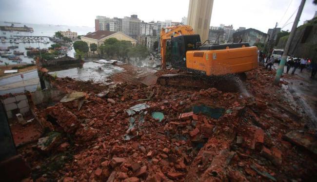 14 imóveis foram demolidos na região - Foto: Joá Souza | Ag. A TARDE