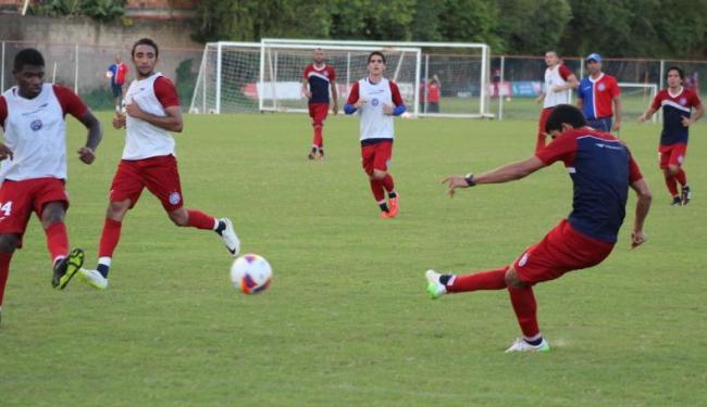 Time fez um coletivo e encerrou preparação para o jogo desta sexta - Foto: Divulgação | E.C.Bahia