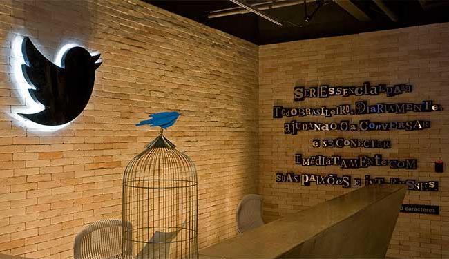 Entrada da sede do Twitter, em São Paulo - Foto: Divulgação | Twitter