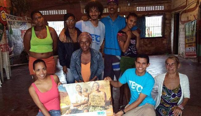 Voluntários em Salvador - Foto: Reprodução | Facebook | Teto