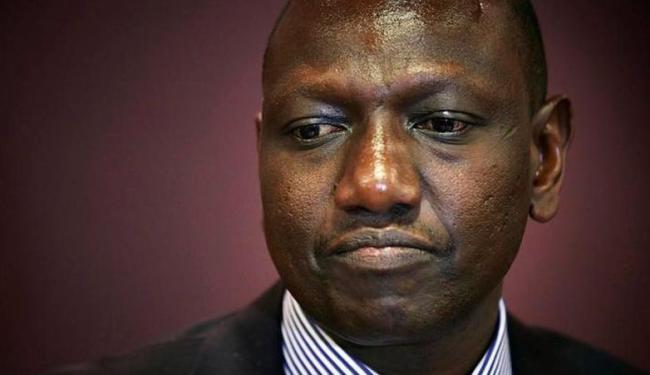 William Ruto, vice-presidente do Quênia, fez discurso contra os homossexuais neste domingo - Foto: Agência Reuters