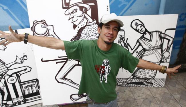 O artista Denissena irá ministrar o workshop - Foto: Walter de Carvalho   Ag. A TARDE