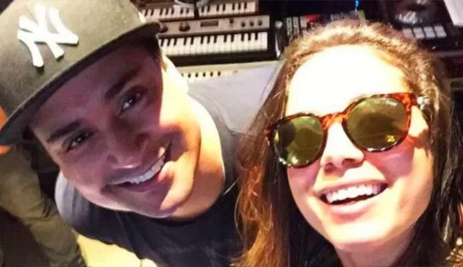 Xanddy e Anitta estão gravando uma música juntos para o novo trabalho do Harmonia do Samba - Foto: Reprodução | Instagram