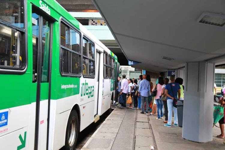 Bloqueios na Estação da Lapa estão programados para esta sexta-feira, 10 - Foto: Joá Souza | Ag. A TARDE