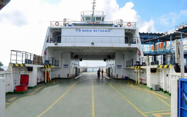 Ferry Maria Bethânia foi recolhido para passar por manutenção - Foto: Divulgação