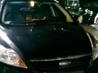 Agente estava em carro com placa clonado e foi preso em blitz da PM - Foto: Reprodução | Whatsapp