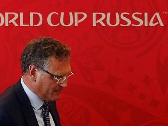Valcke defende o Mundial de 2018 na Rússia - Foto: Ag. Reuters