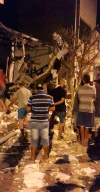 Com o impacto da explosão, a agência em Quijingue ficou completamente destruída - Foto: Divulgação   Polícia Civil