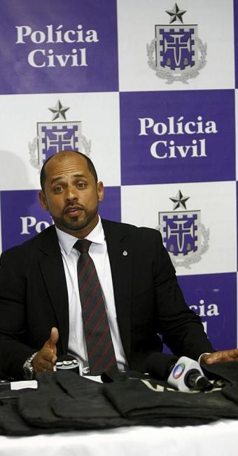 Jorge Figueiredo, diretor do Departamento de Repressão e Combate ao Crime Organizado (Draco) - Foto: Adilton Venegeroles | Ag. A TARDE | 23.04.2015