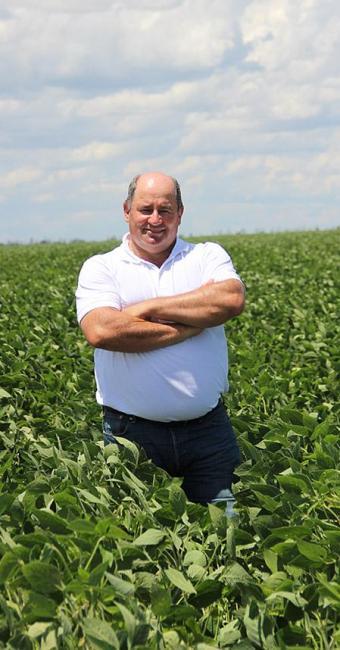 Júlio, sócio no Grupo Fazenda Busato e pres. da Associação dos Agricultores Irrigantes da Bahia - Foto: Divulgação l Aiba