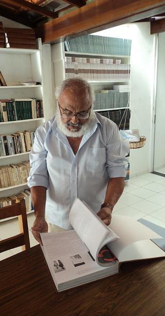 Araújo criou o Instituto de Humanidades e Cidadania (IHC) com recursos próprios - Foto: Léo Sousa | Divulgação
