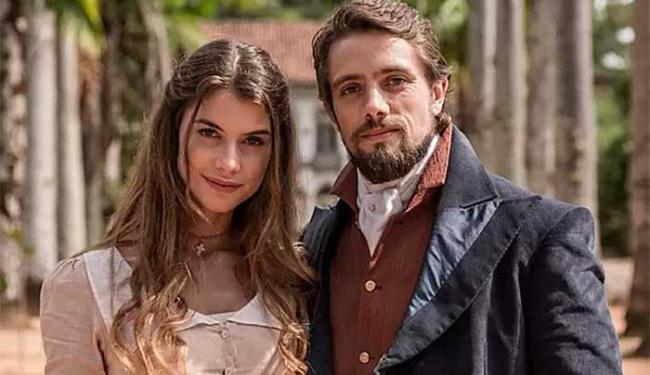 Rafael Cardoso será Felipe, um conde apaixonado por Lívia (Alinne Moraes) - Foto: TV Globo   Divulgação