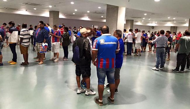 Sócios foram à Arena Fonte Nova para votar - Foto: Divulgação