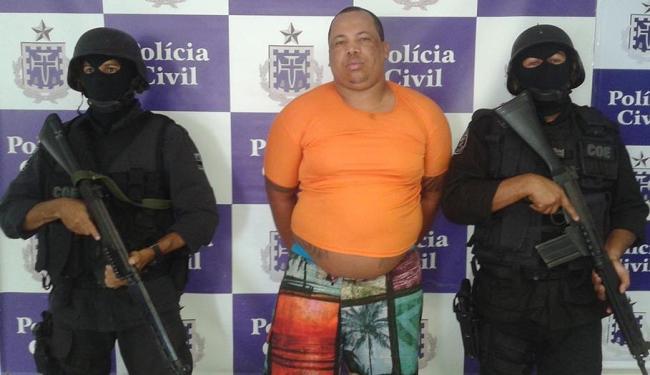 'Colorido' era um dos criminos mais procurados pela polícia - Foto: Divulgação | Polícia Civil