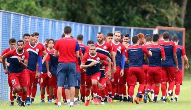 Tricolor inicia preparação para enfrentar Luverdense, no próximo sábado - Foto: Felipe Oliveira l Divulgação l E.C. Bahia