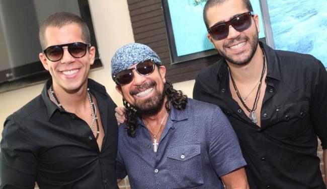 Bell vai lançar seu CD na festa em companhia dos filhos - Foto: Heber Barros   Divulgação