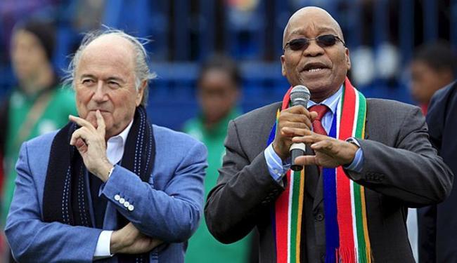Carta revela que governo sul-americano sabia da propina para sediar a Copa de 2010 - Foto: Radu Sigheti l Reuters