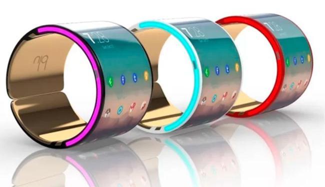 Blu é flexível e pode ser preso ao braço - Foto: Divulgação
