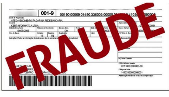 O consumidor deve verificar os dados impressos, como número do banco - Foto: Reprodução