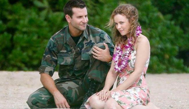 Bradley Cooper e Rachel McAdams em 'Sob o Mesmo Céu' - Foto: Divulgação