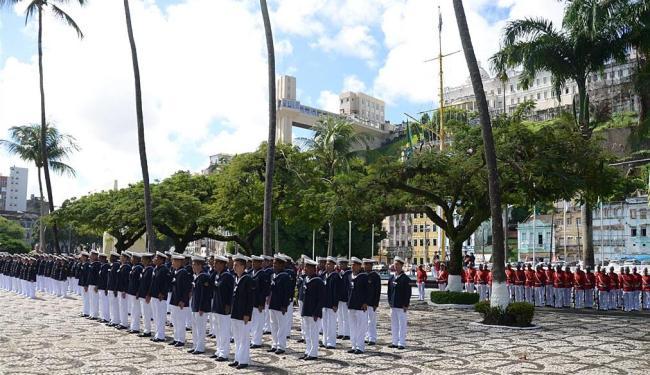 Desfile militar foi uma das celebrações à data - Foto: Divulgação | Marinha do Brasil