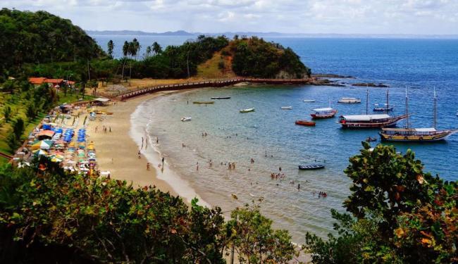 Ponta de Nossa Senhora de Guadalupe recebe cerca de 4 mil visitantes no verão - Foto: Divulgação