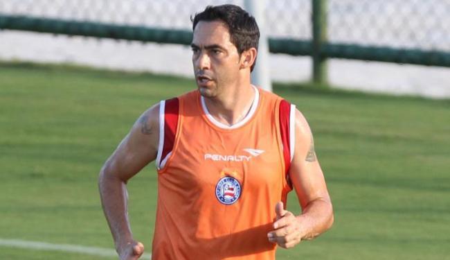 Com a camisa tricolor, Chicão atuou em apenas oito jogos - Foto: Lúcio Tavora | Ag. A TARDE