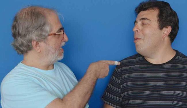 O diretor Geneton Moraes e o filho de Glauber Rocha, Henrique Cavalleiro - Foto: Divulgação