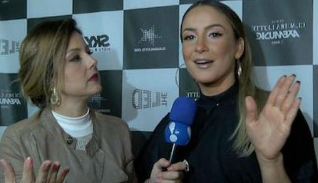 Claudia afirmou que não se incomoda com a opinião alheia - Foto: Reprodução | Rede TV