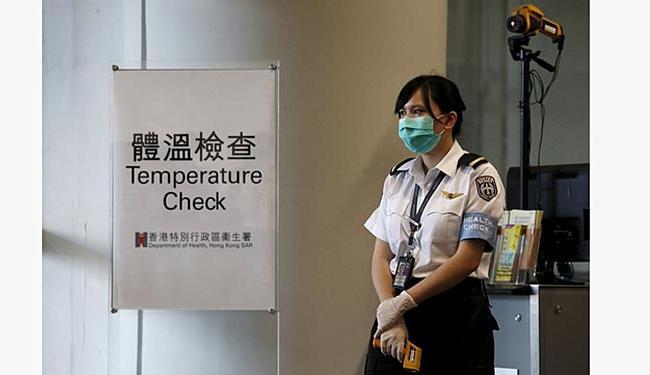 O governo sul-coreano montou pontos de checagem de pressão no país - Foto: Ag. Reuters