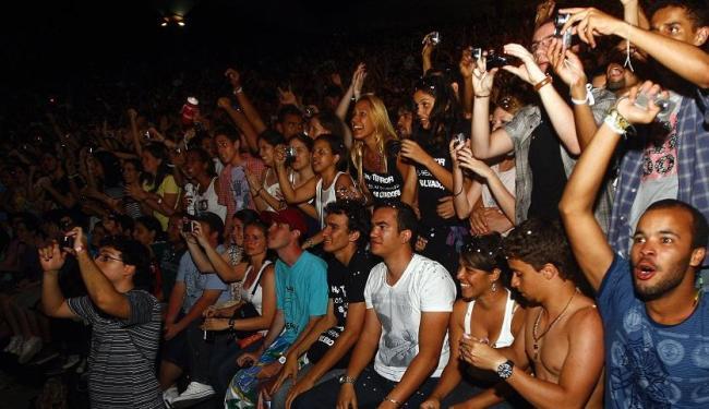 Fãs do Los Hermanos em show da banda em Salvador - Foto: Walter de Carvalho | Ag. A TARDE
