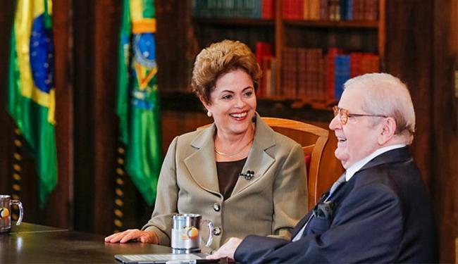 Episódio ocorre após entrevista do apresentador com a presidente em seu programa - Foto: Roberto Stuckert Filho l PR