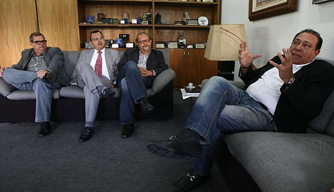 Diretores da FTC durante visita ao Grupo A TARDE - Foto: Lúcio Távora l Ag. A TARDE