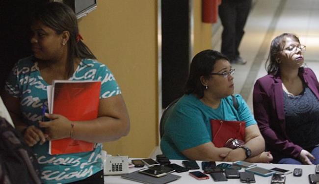 Celulares de dirigentes petistas foram recolhidos antes de reunião com Rui Falcão - Foto: Lúcio Távora l Ag. A TARDE