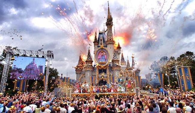 Parque é um dos mais visitados do mundo - Foto: AP Photo