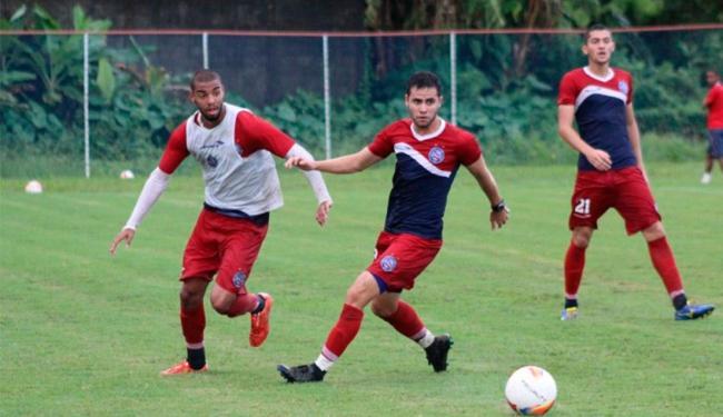 Técnico fez coletivo com quem jogou menos de 45 minutos - Foto: ECBahia   Divulgação
