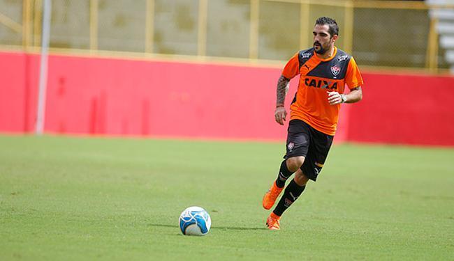 Escudero em treino no Barradão, palco do jogo desta sexta - Foto: Joá Souza | Ag. A TARDE