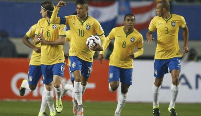 Neymar marcou um gol e deu assistência para outro - Foto: Ricardo Moraes| REUTERS