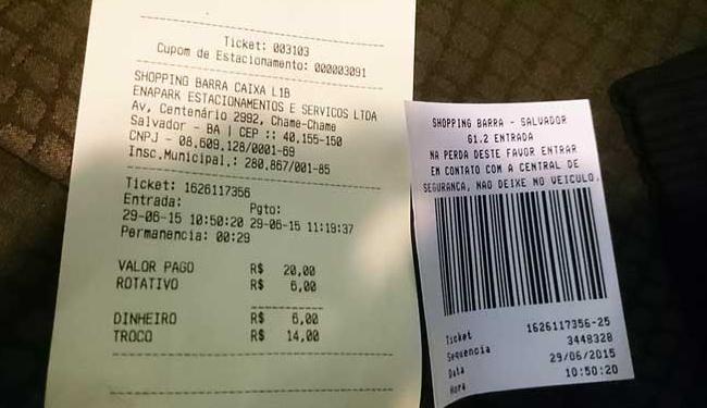 Dúvida fez Leonardo ir ao guichê validar o ticket - Foto: Leonardo Carvalho | Cidadão Repórter