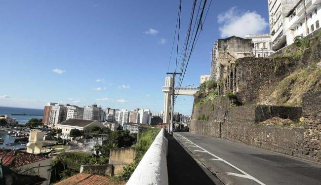 Será permitido estacionar na parte alta da Ladeira da Montanha - Foto: Mila Cordeiro   Ag. A TARDE