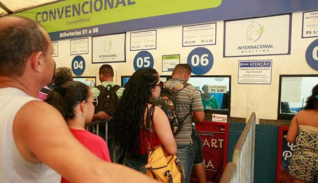 Novidade deve agilizar acesso à travessia entre Salvador e Itaparica - Foto: Joá Souza | Ag. A TARDE